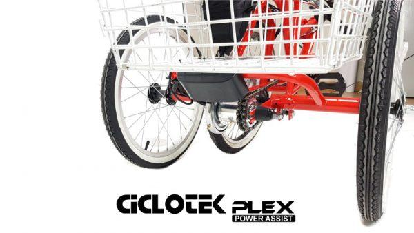 Triciclo Eléctrico Plegable CicloTEK PLEX - Vehículos