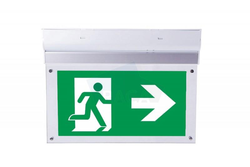 Taurac surface mounted emergency lighting with - Emergency lighting exit sign - E1D14601
