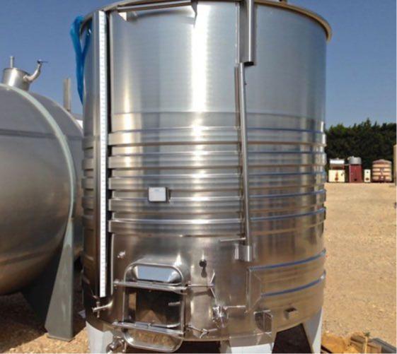 Depósito de acero inoxidable 304 - 75 HL - SAIPSER7500B