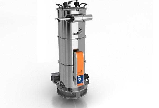 Transportador de pó - METRO P - Carregador de tremonha de pó para composição e processamento de plásticos
