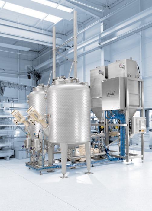 Equipamentos de processo - Equipamentos de processo específicos à aplicação para todo ramo de indústria