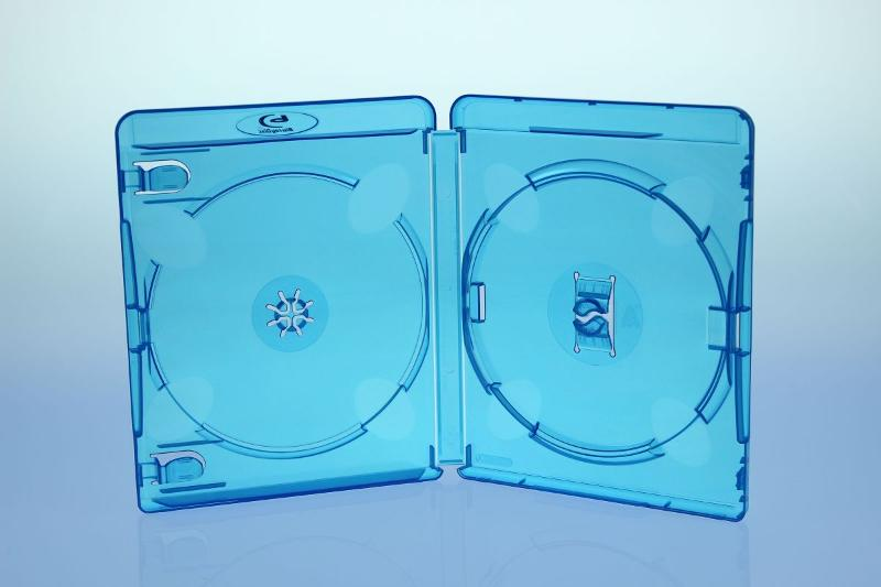 AMARAY BluRay Box 2-fach - 15mm - FOF - BluRay & UHD