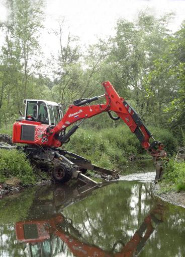 R65 Super Power - Spider excavator super power