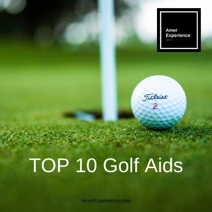 TOP 10 Golf Trainings Aid -  TOP 10 golf training aids for home and range