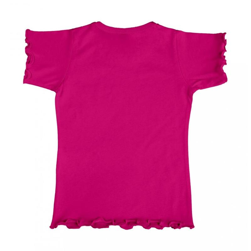 Tee-shirt fille Fashion - Manches courtes