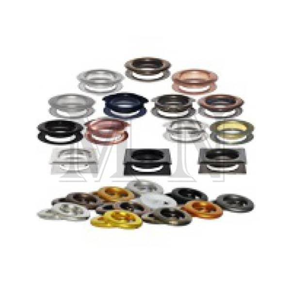 Curtain Eyelets, Grommets - Brass, Iron, Galvanized Material. Variety of color