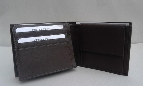 Leather wallet  -  Leather Goat wallet