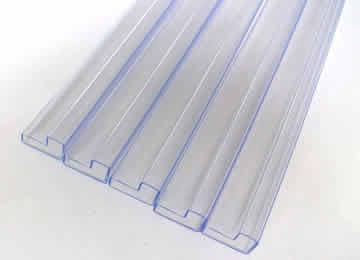 Extrusion transparent profile