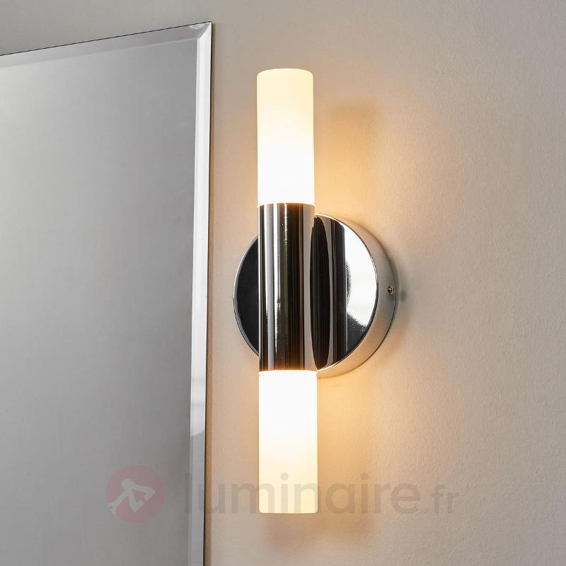 Applique LED Benaja à 2 lampes - Salle de bains et miroirs