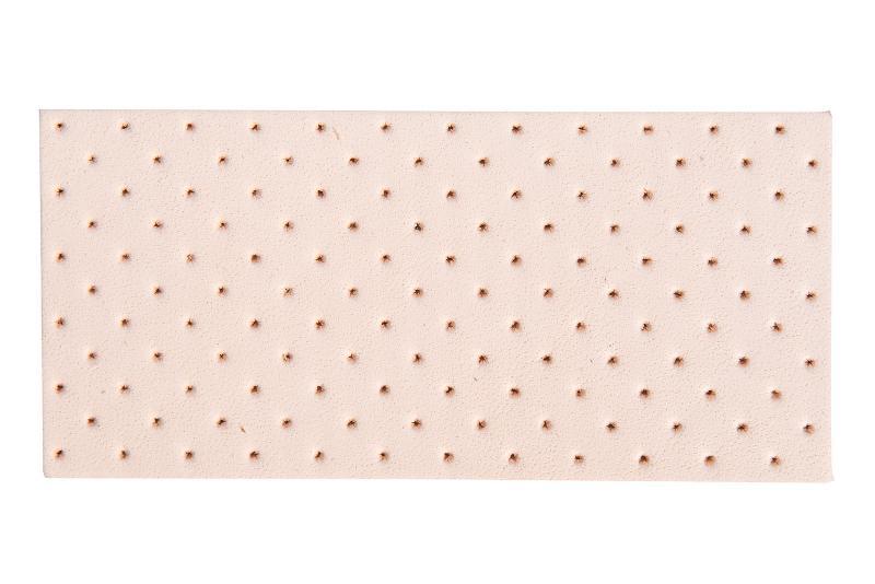 VegLine, Balnkleder, mild, gebimst - Leather for the orthopaedic and shoe industry