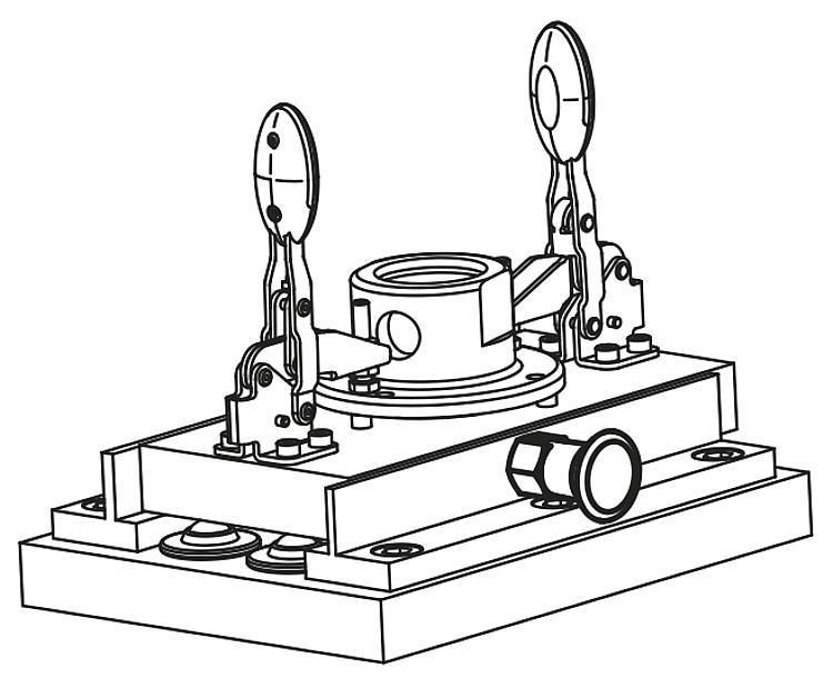 Doigt d'indexage en Inox sans collerette - Doigt d'indexage à corps lisse