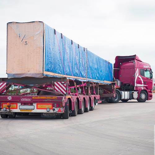 Transportation of oversized cargo - Transportation of oversized cargo