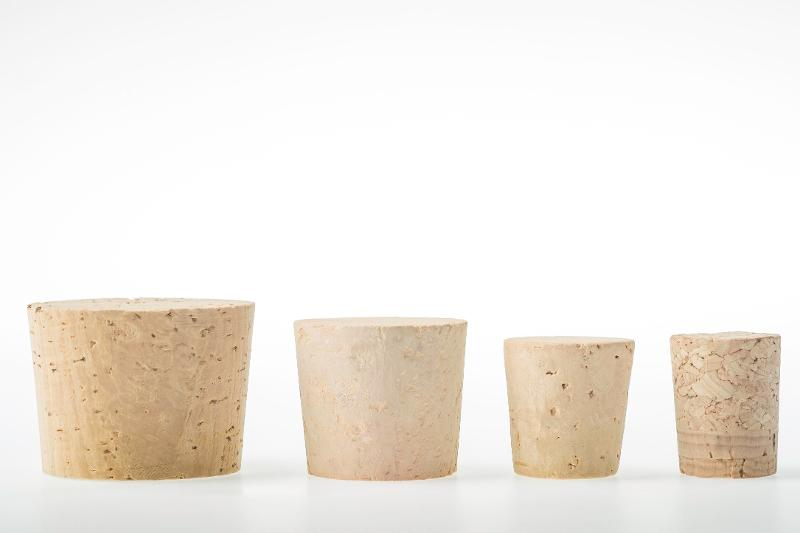Conical cork stoppers - null