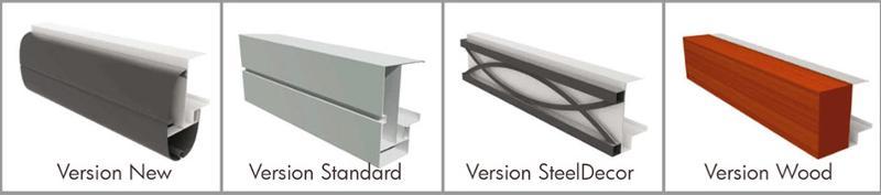 Pergola fixe CboX - Pergola en aluminium à toile rétractable ou à lamelles orientables pour...