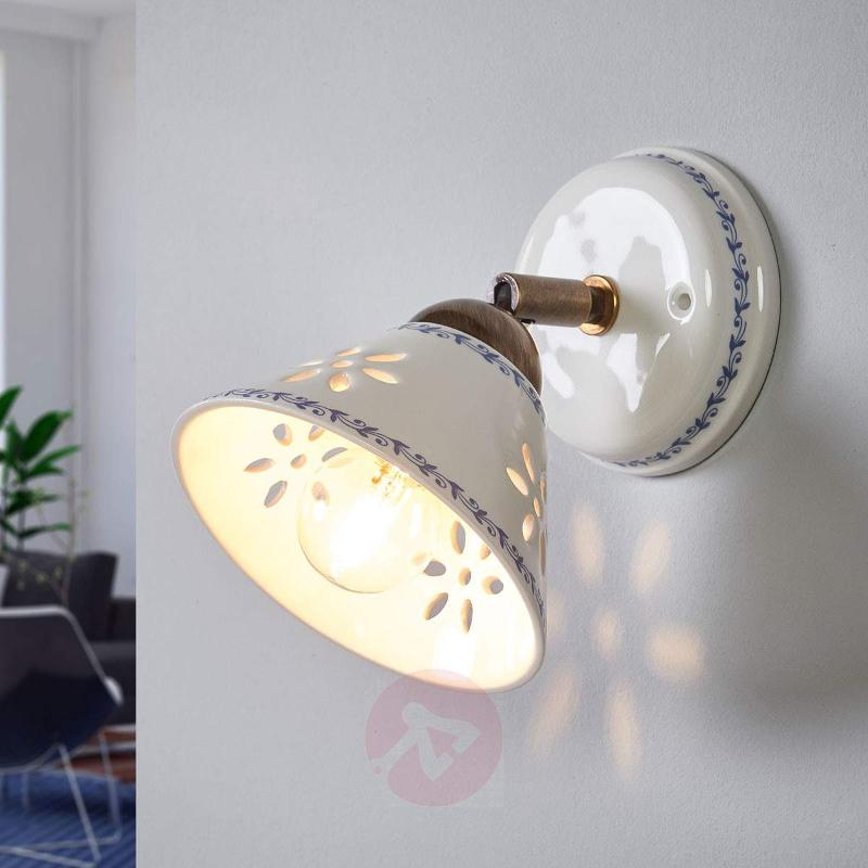 Nonna wall light made of white ceramic wall lights lights nonna wall light made of white ceramic wall lights aloadofball Images