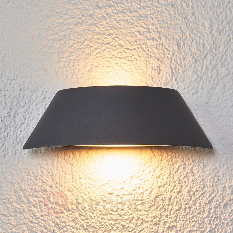 Applique LED Glen en forme de trapèze IP65 - Appliques d'extérieur LED