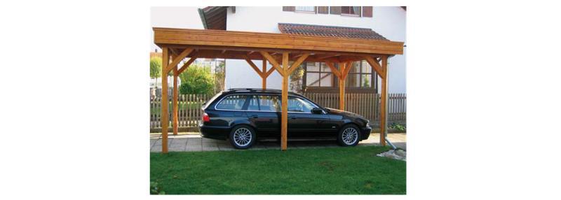 Carports et garages - Construction en bois