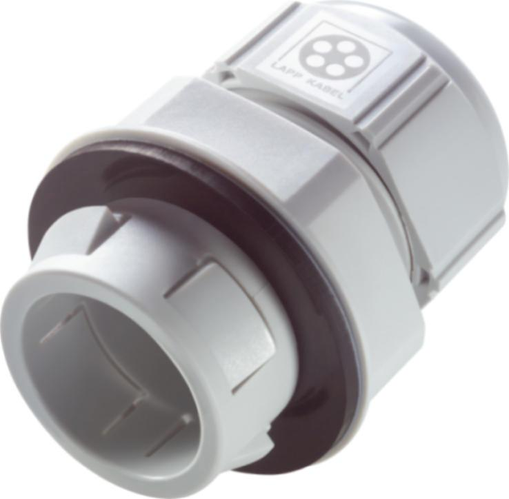 plastic cable gland - Plastic cable gland with time-saving latch system