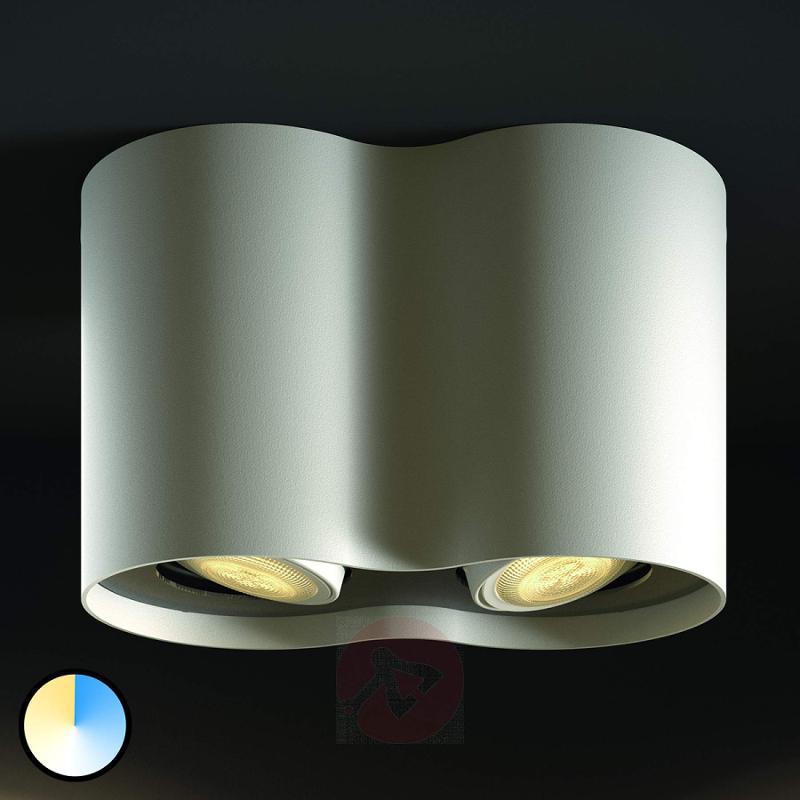 2-bulb Philips Hue LED spotlight Pillar - indoor-lighting