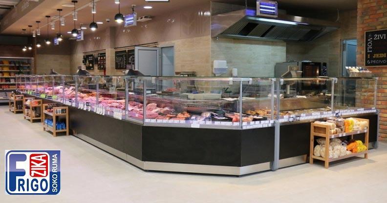 Miki - Refrigerated showcase