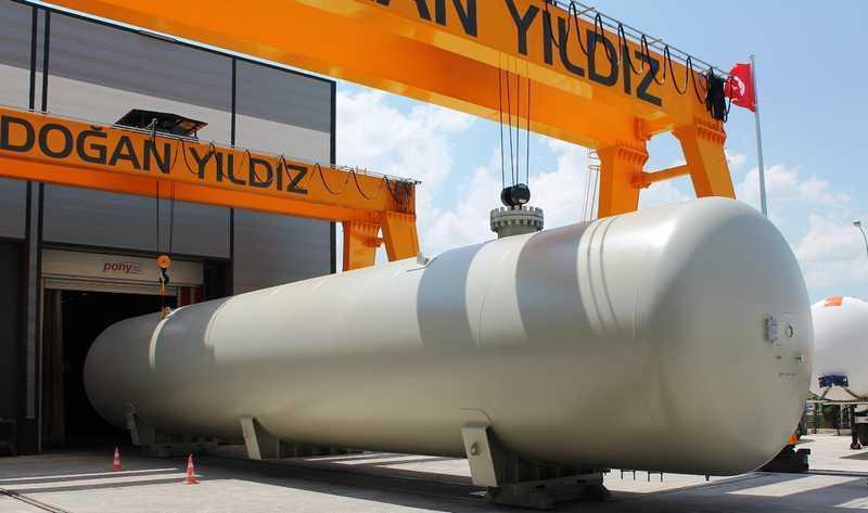 LPG - Industrial Storage Tank - Industrial LPG Storage Bullet Tank