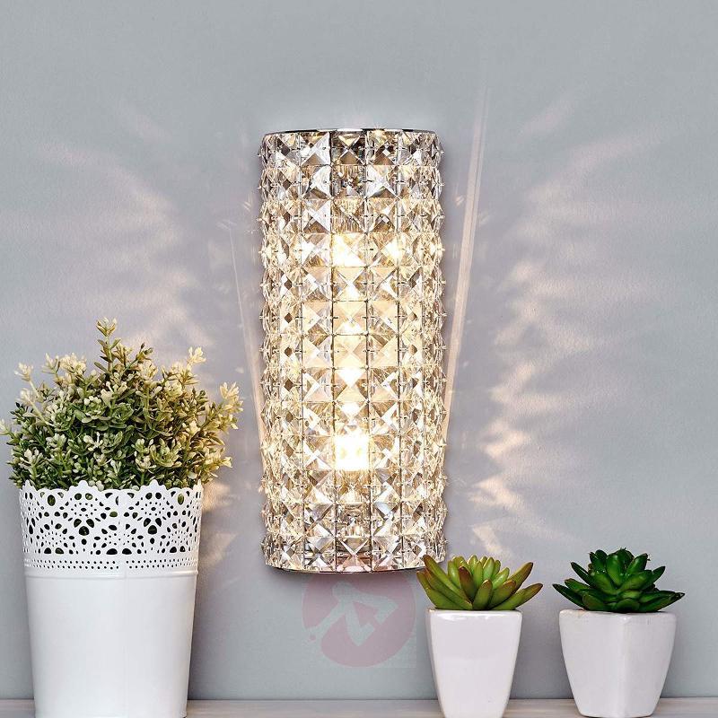 Sparkling Kylian Crystal Wall Lamp Lights Germany