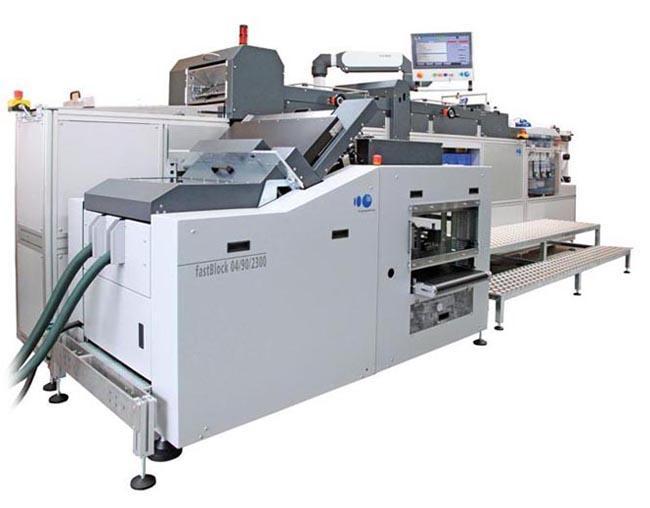 fastBlock 04/09/2300 System zur Herstellung von Buchblöcken