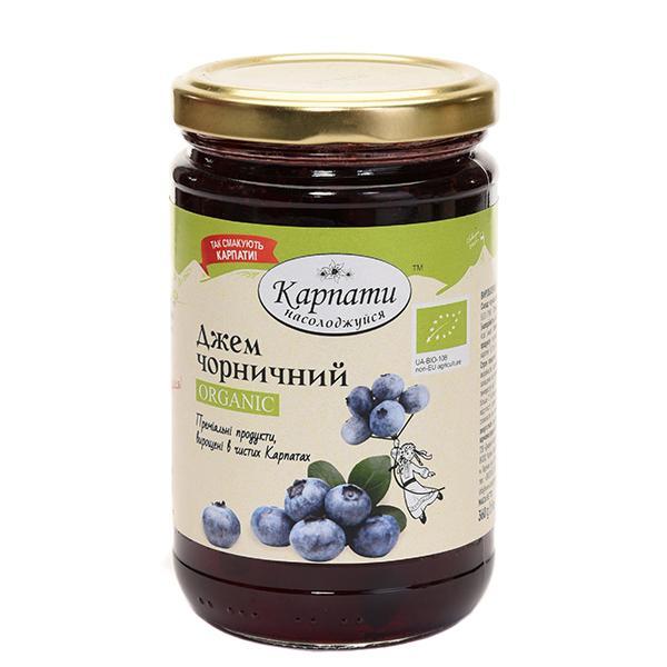 blackberry jam (organic) - ежевичный джем (органик)
