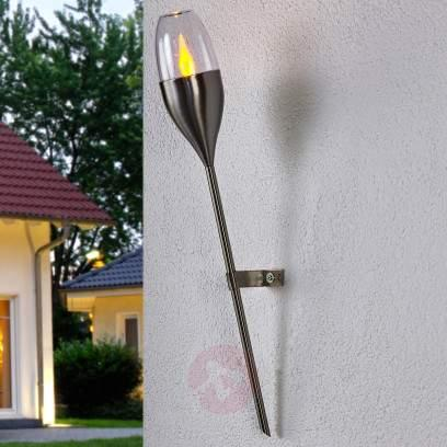 Cylindrical LED ground spike lamp Freya - outdoor-led-lights