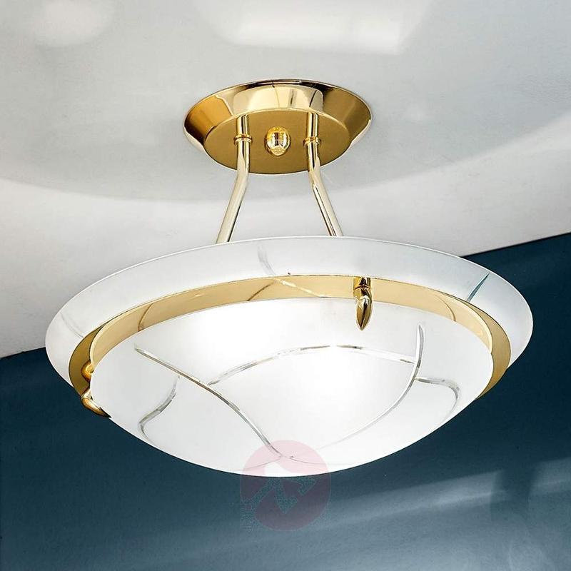 Decoravtive ceiling light Mamoa in brass - Ceiling Lights