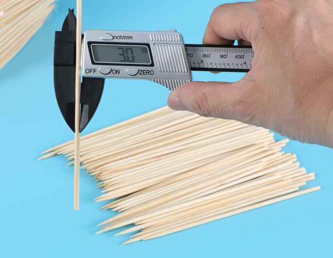 Bamboo skewers - disposable BBQ skewer