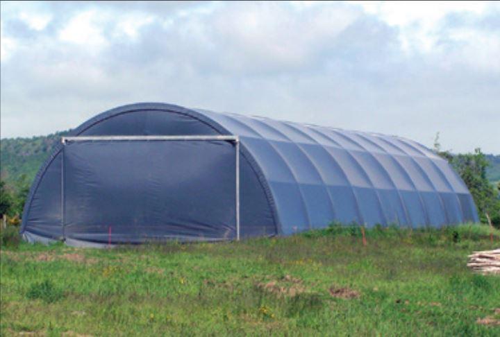 Bâche de tunnel de stockage 630 gr/m² - bachetunnel630