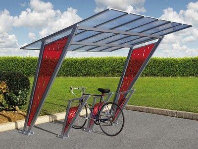 Abri Vélos Venise - Abrisbus