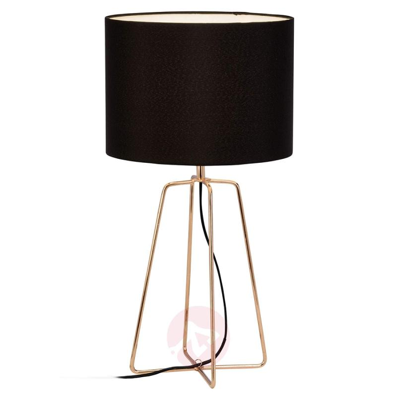 Grigory - graceful-looking fabric table lamp - indoor-lighting
