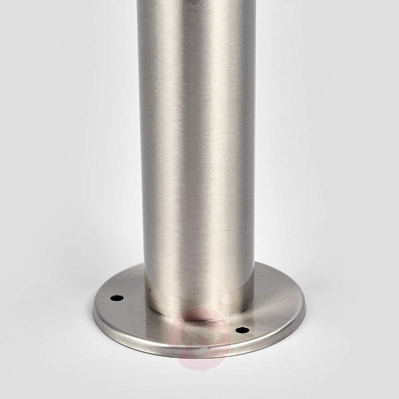 Tiga stainless steel pillar light w. LEDs & sensor - Pillar Lights