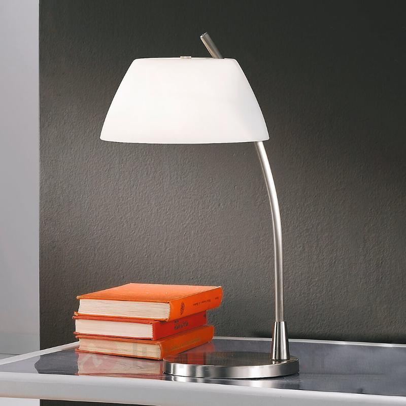 Lampe à poser Malmö nickelée - Lampes à poser designs
