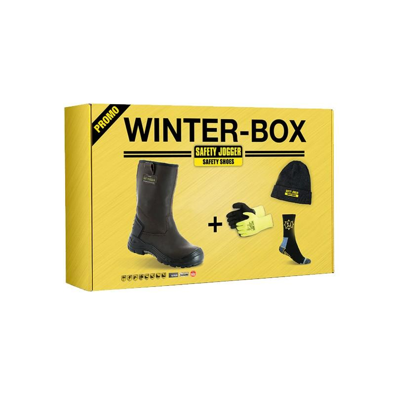 Pack hiver - bottes cuir S3