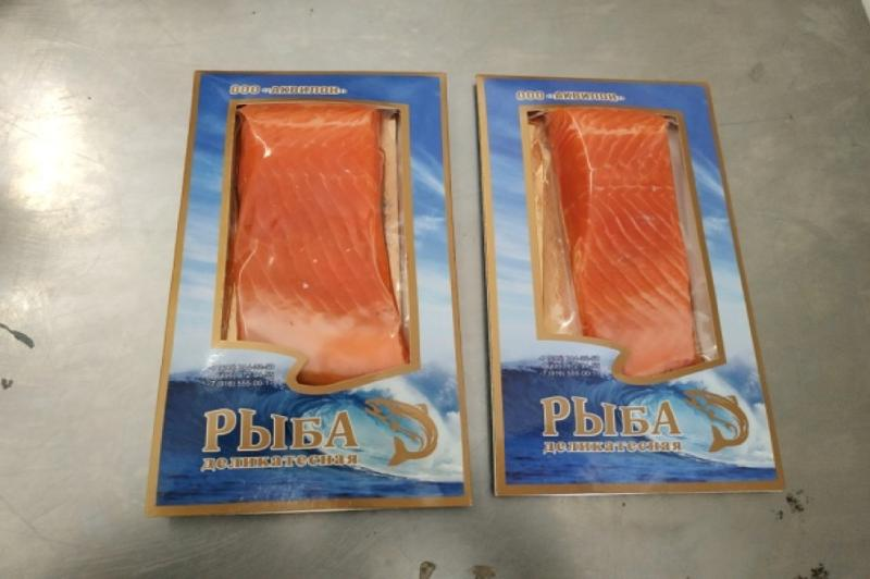 Trout Lightly salted fillet-piece 200g - LIGHTLY SALTED PRODUCTS