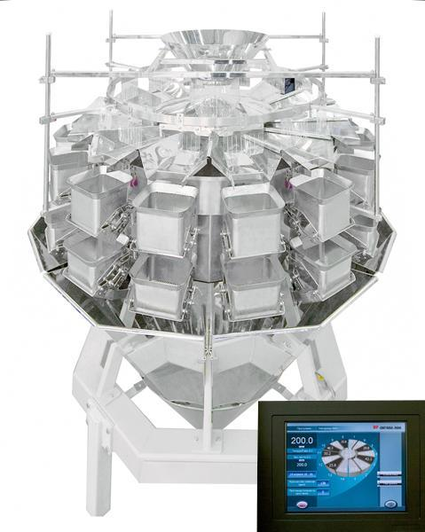 Multihead weigher SP10(14)-2ekb - WEIGHERS (DOSING EQUIPMENT FOR THE FOOD INDUSTRY)