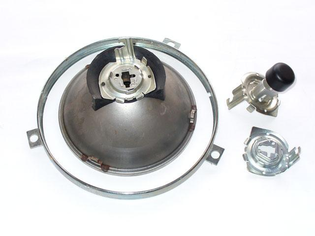 Internal parts of car lamp of Fiat Topolino - Parts for antique cars