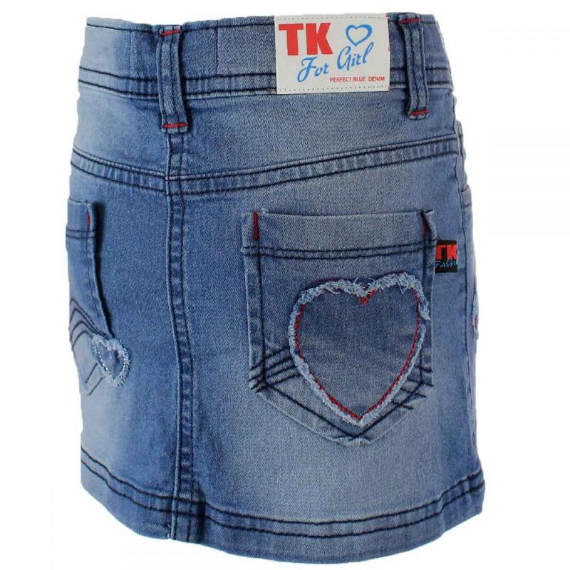 10x Mini-jupes jeans Tom Jo du 6 au 14 ans - Robe Jupe et short