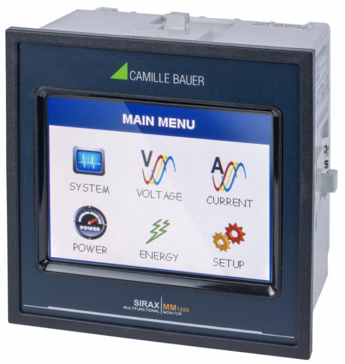 SIRAX MM1200 - Monitor with TFT-Display