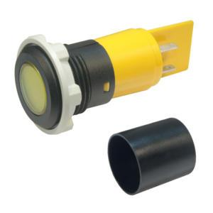 Panel Mount Indicators - with plastic bezel with protection tube