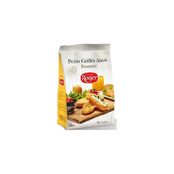 """Crackers """"Petit Grillés Aixois Aux Froment"""" - null"""