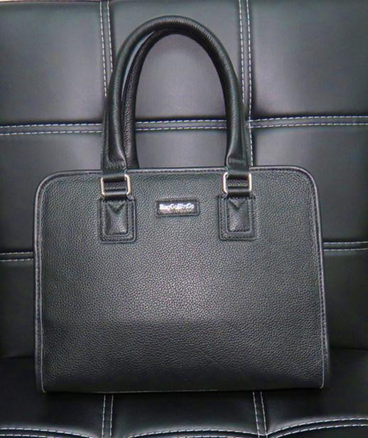 BAGGO BINGO MEN'S LEATHER HANDBAG