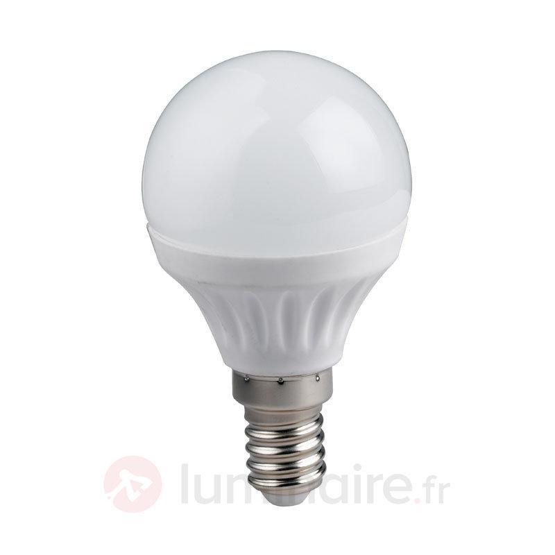 Ampoule goutte E14 4 W LED, blanc chaud - Ampoules LED E14