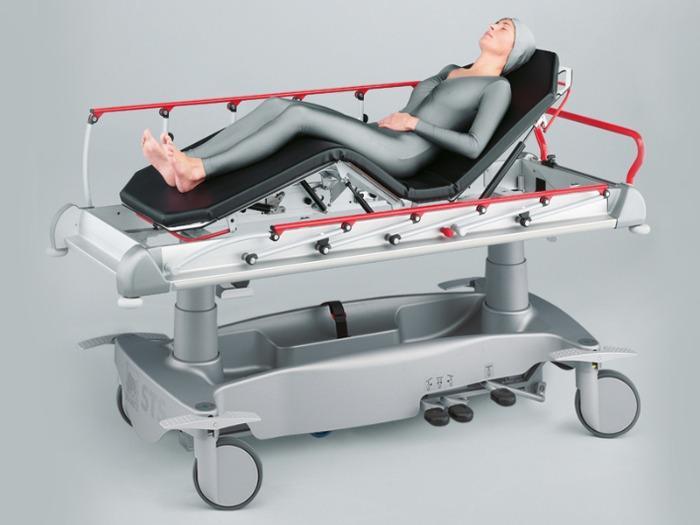 STS 282 Système de transport de patients - pour les urgences et la consultation ambulatoire