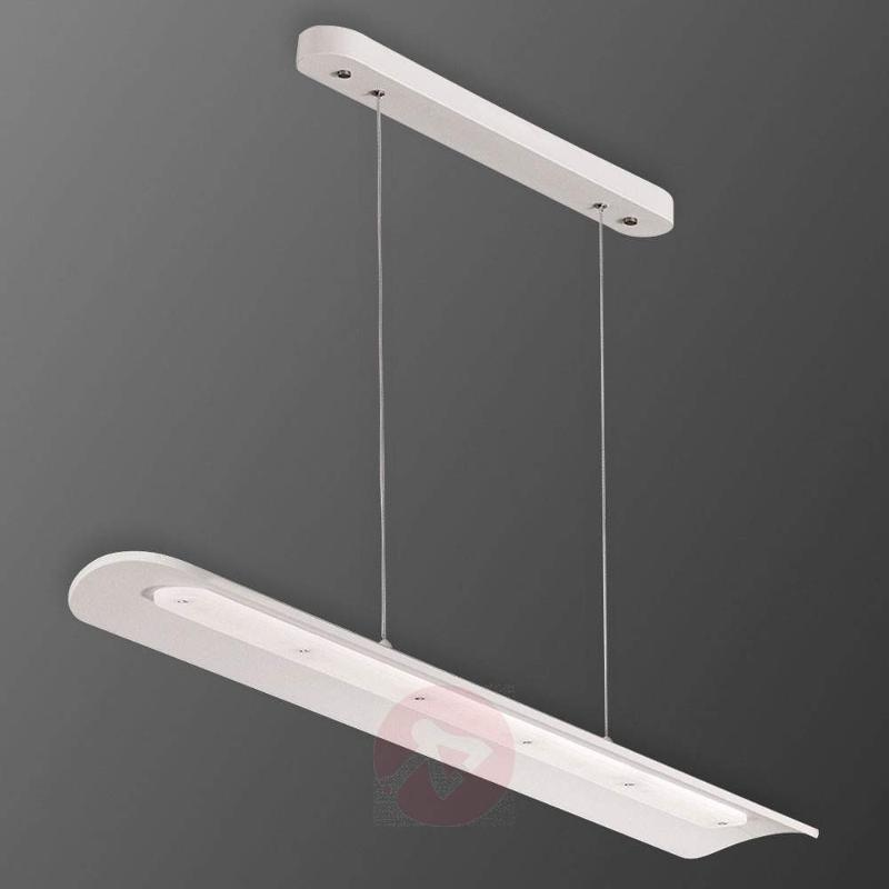 30 W LED hanging light Erik in White - Pendant Lighting