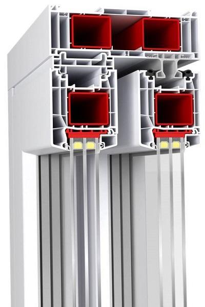 HST-85 (PVC Sliding Doors - Aluplast) - HST 85mm Lift & Sliding Patio PVC Door