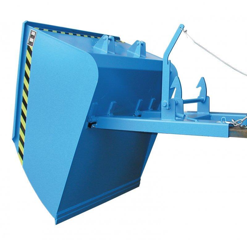 Pelles, appareils pour chariot élévateur - Pelles avec fourreaux et baculement mécanisme